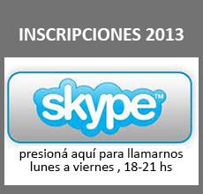 Skype! - ISFT 188 - Inscripción 2013: Desconectado
